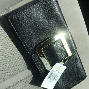 Michael Kors Small Handbag / Black and Gold